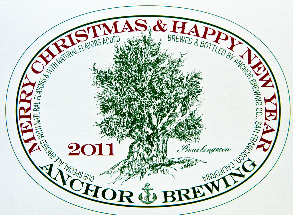 Anchor Brewing 2011 Merry Christmas Happy New Year Ale By Mbell1975