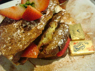 Pumpkin Bread French Toast, Rox Diner, MA | by cakespy