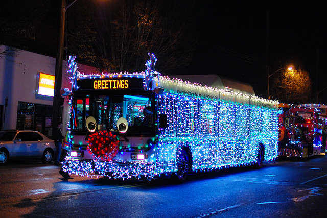 BC Transit Christmas Buses | Flickr