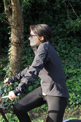 Rapha women's softshell jacket | by londoncyclist