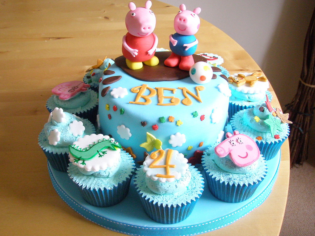 Peppa Pig Cake Nailed It