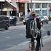Bike on bike by Aude