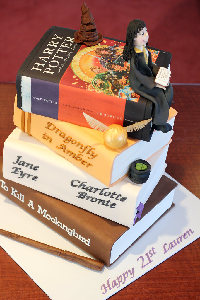Stack Of Books Cake Images