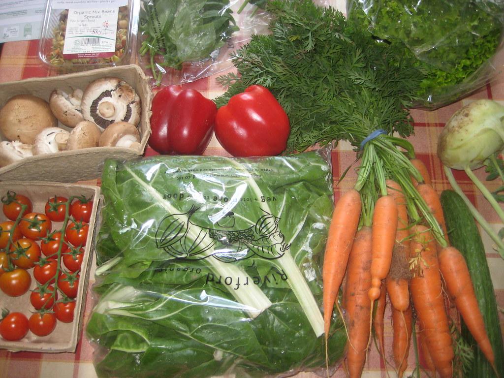 Fruits Vegetable Organic Food Vector