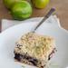 Blueberry cake with lime crumb topping / Laimipurukattega mustikakook