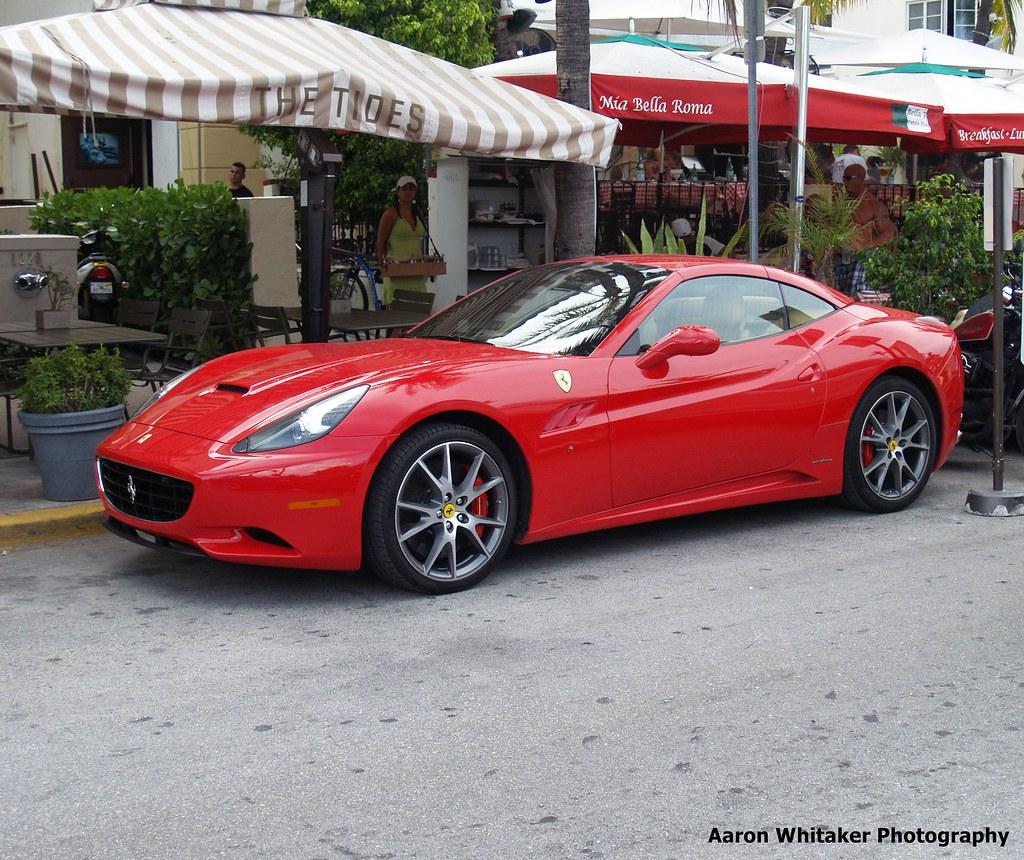 Ferrari California - Miami Beach FL