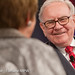 Warren Buffett of Berkshire Hathaway Inc. and interviewer Carol Loomis of Fortune
