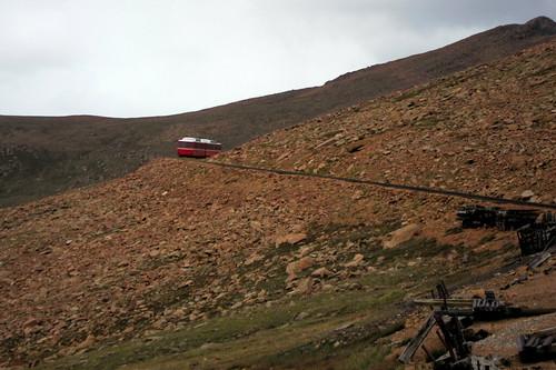 Colorado Pikes Peak Windy Point Siding Pikes Peak Is