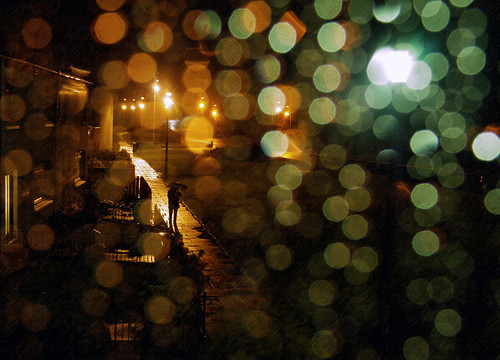 JUST A RAINY NIGHT IN OCTOBER | by kenny barker