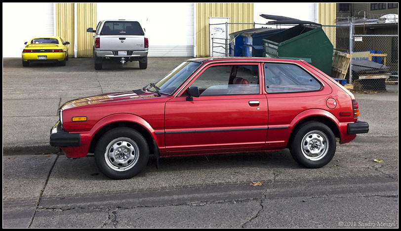 Honda 1980 1983 Civic Honda Civic Second Generation