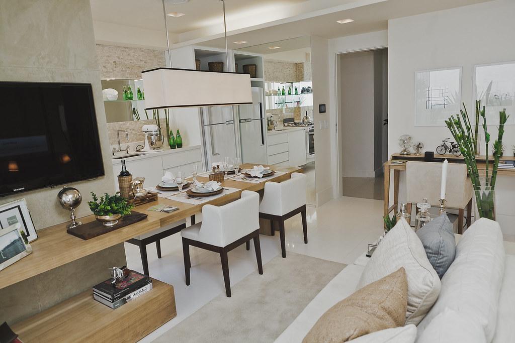 Fotografia do apartamento decorado pateo vila pompeia s o for Cocina americana sala de estar idea