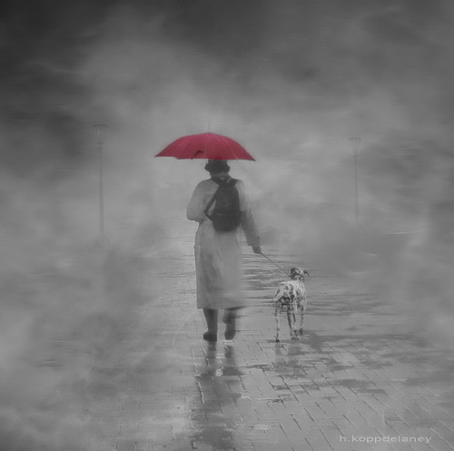 Walking in the Rain | by h.koppdelaney