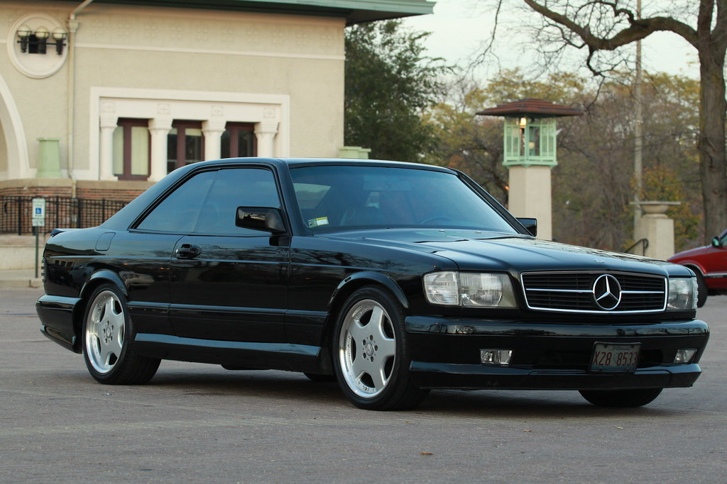 Mercedes 560 sec amg wald 1990 mercedes 560 sec amg wald for Mercedes benz 560 sec amg for sale