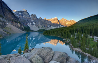 Sunrise on Lake Moraine | by Fil.ippo (8000k views)