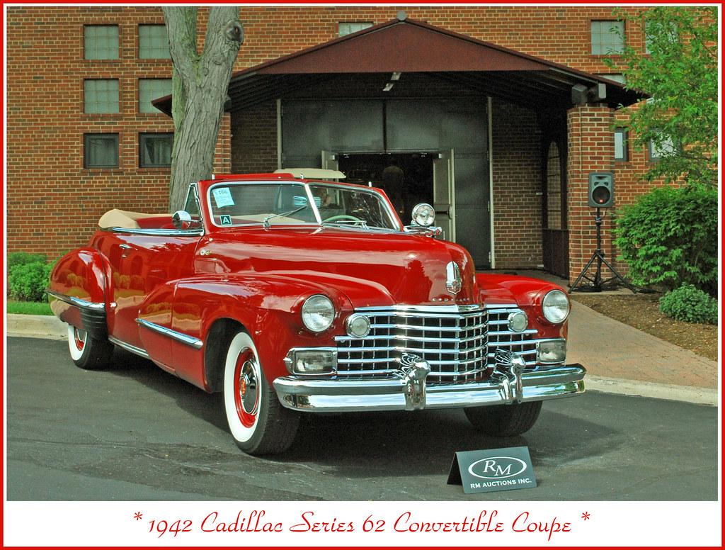 1942 Cadillac Convertible Photographed At The July 29