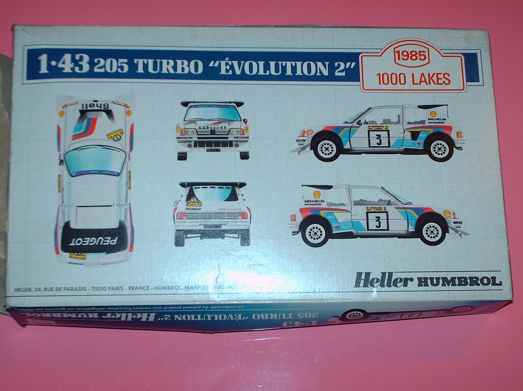 1985 1000 lakes finland rally peugeot 205 turbo 16 heller … | flickr