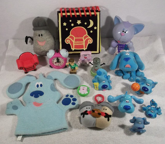 lot of nickelodeon blues clues toys | Flickr - Photo Sharing!
