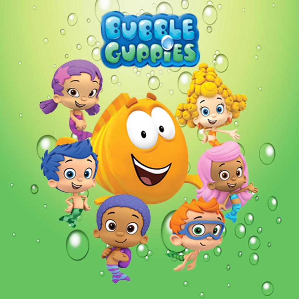 Edible image bubble guppies edible image frames flickr - Bubulles guppies ...