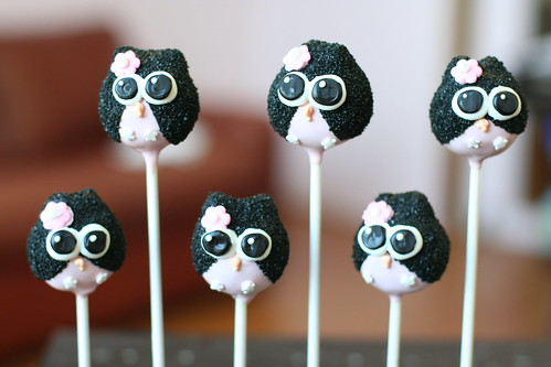 Owl Cake Pops | by Sweet Lauren Cakes