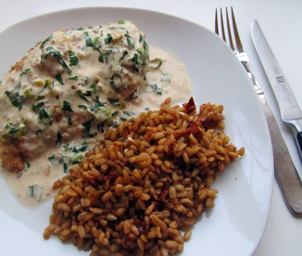 Chicken And Pearl Barley London Food