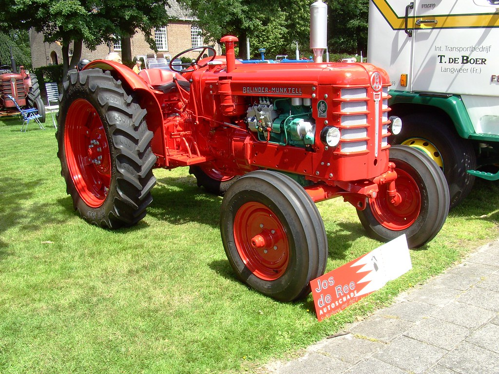 Bolinder Munktell Tractor From Sweden The Bolinder