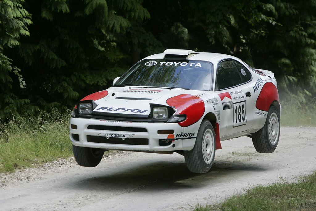 Toyota Celica GT-Four Group A Rally Car | Highlights from To… | Flickr