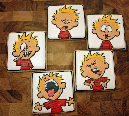 The many faces of Calvin | by TheHungryHippopotamus