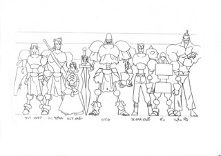 Guardian Heroes Concept Art | by SEGA of America