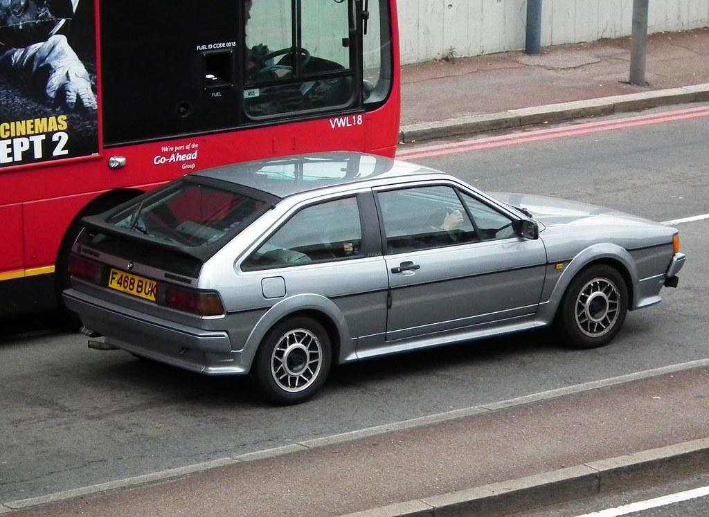Volkswagen Scirocco Scala 1989 Volkswagen Scirocco Scala