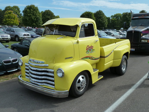 Late 40 S Chevrolet Cab Over Engine Coe Pickup Truck