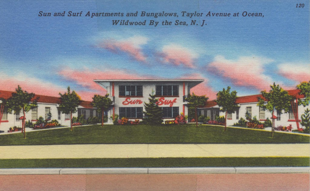 Sun and Surf Apartments and Bungalows - Wildwood, New Jersey