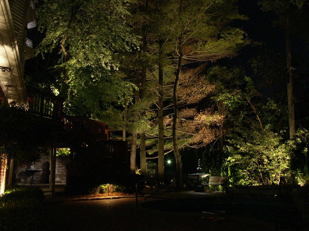 custom landscape lighting ideas. Intriguing Landscape Lighting By Elegant Custom Images | Design Advisor Ideas