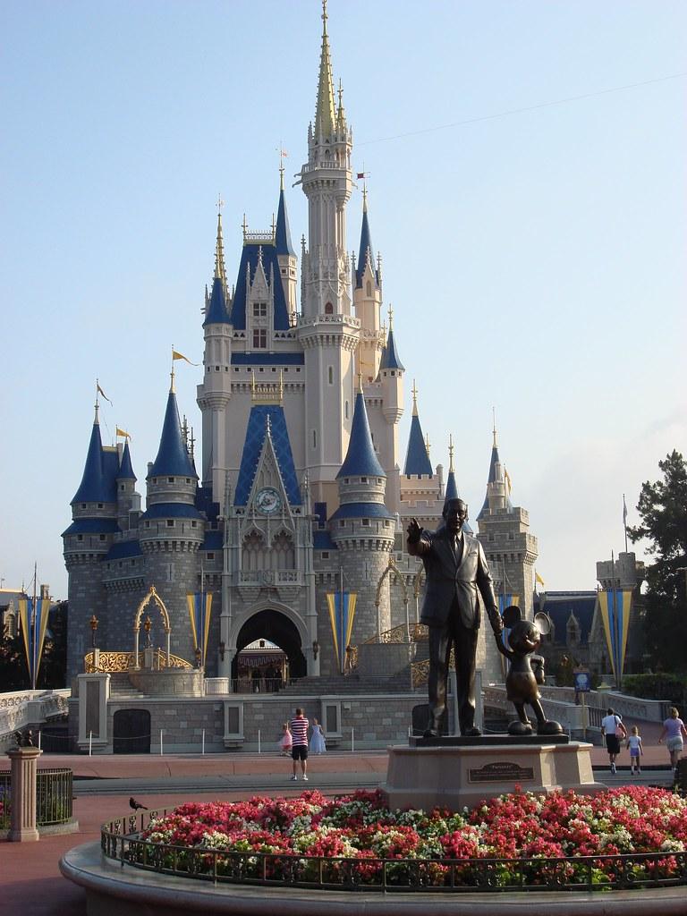 Disney World Castle Birthday Cake