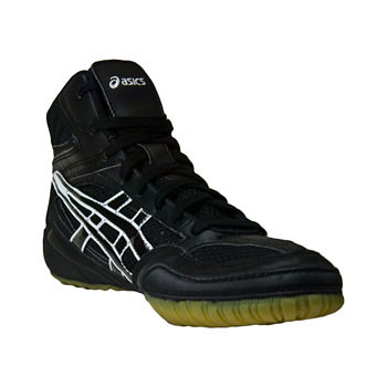 Asics-SplitSecond-WrestlingShoes-BlackWhite-3 | by wrestlinggear