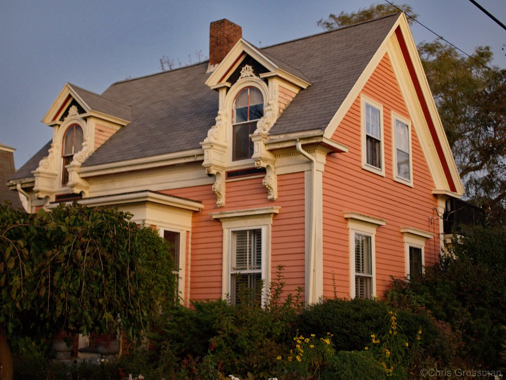Victorian style house rockport massachusetts olympus for New victorian style homes
