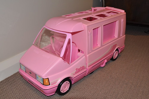 1989 Barbie Doll Magic Van I Have Just Recently Bought
