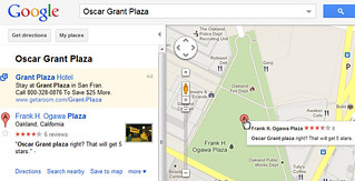 Oscar Grant Plaza in Google Maps | by Si1very