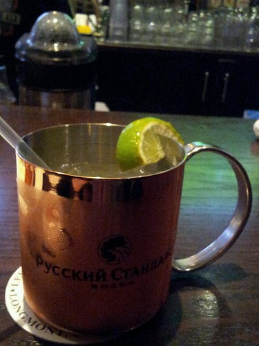 Denver Donkey at Highland Tap & Burger | The Moscow Mule ...