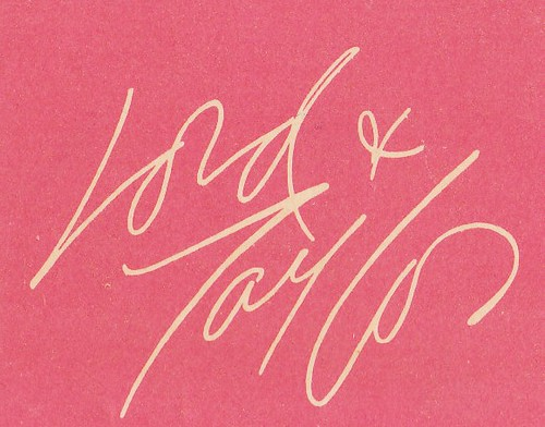 Lord and Taylor Matchbook Cover | by hmdavid