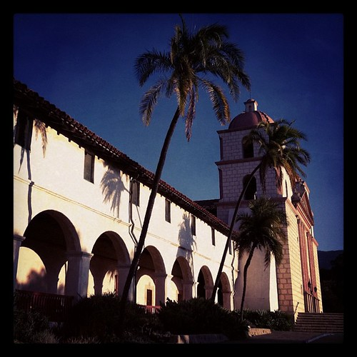 Old Santa Barbara Mission | by jannetwalsh