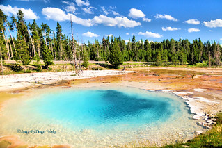 SILEX SPRING ~ YELLOWSTONE ~ WYOMING | by Image By Design Works ﺕ