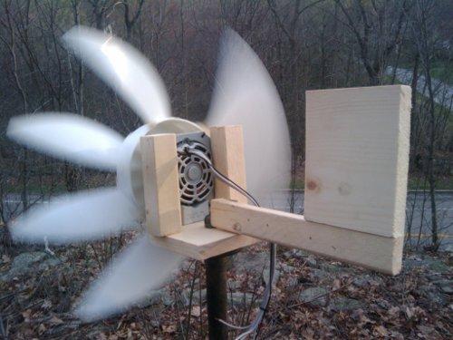 Box fan windmill. Make a wind turbine at home | How to make ...