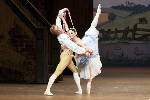 Roberta Marquez as Lise and Steven McRae as Colas in La Fille Mal Gardee © Tristram Kenton/ROH 2010 | by Royal Opera House Covent Garden