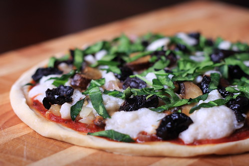 Olives for Dinner | Homemade Pizza with Fresh Vegan Mozzarella | by Jeff and Erin's pics