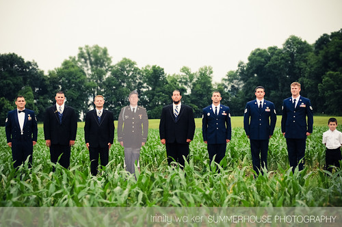 THE CARDBOARD CUT OUT GROOMSMEN! | by SummerHouse Photography