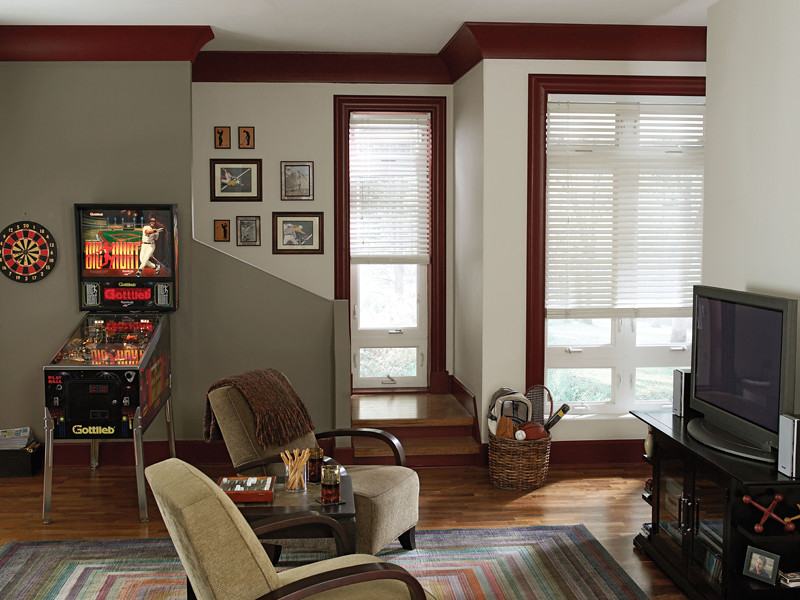 Casual game room walls mineral ul170 15 accent wall ethi flickr