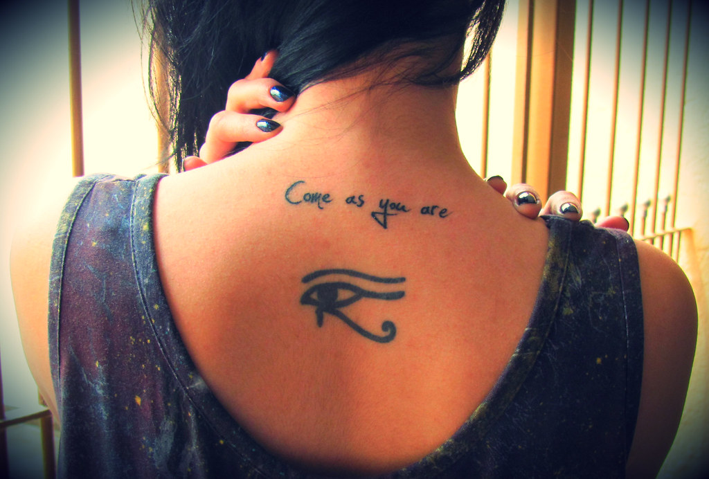 Always come as you are my third tattoo made on for Where do tattoos come from