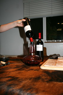 Tradtional decanting | by winesoiree