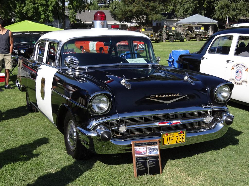 New Chevy Cars >> *1957 CHEVROLET Bel Air MODESTO POLICE Department 2011 Men…   Flickr
