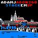 AdamJ & ADON360 – Stack 'Em Up: Track Cover Design